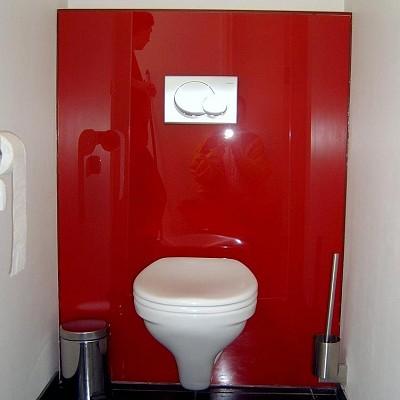 Toilet achterwanden den hartog glas - Wandbekleding voor wc ...
